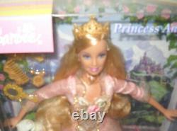 #10581 NRFB Mattel Barbie Princess & the Pauper Doll & VHS Video Set