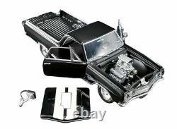 1965 Chevrolet El Camino Drag Outlaw Black 118 Blown 572 Diecast Acme Gmp Chevy