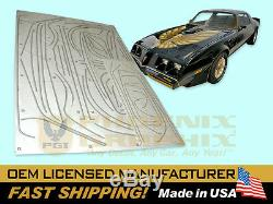 1979 1980 1981 Firebird Trans Am Special Edition Bandit formed Stripes Only Kit