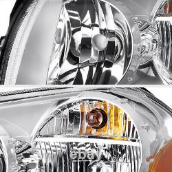 2005-2007 Dodge Magnum FACTORY STYLE Front Chrome Headlights Assembly SET NEW