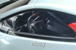 2020 Chevrolet C8 Corvette Ceramic Grey Metallic 118 Resin GT Spirit MIB