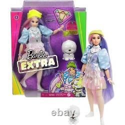 2020 Mattel Barbie Extra Dolls 5 Complete set Ships Now 1,2,3,4 & 5 New