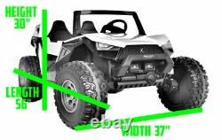 24v Challenger XL Ride On 4x4 Buggy EVA Leather Special Carbon Edition