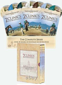 7 Clinics with Buck Brannaman, Complete Set Discs 17 DVDs Brand New & Boxed Set