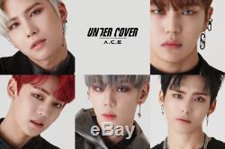 A. C. E-Under Cover 2nd Mini Album CD+Poster+PhotoCard+4Cut PhotoSticker K-POP