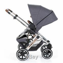 ABC Design Kombi Kinderwagen Salsa 4 Air 2019 Diamond Special Edition asphalt