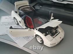 AUTOart 118 Honda NSX Type R white Rare