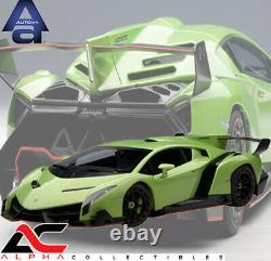 Autoart 74509 118 Lamborghini Veneno (green) Supercar Diecast