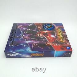 Avengers Infinity War 4K UHD + 2D & 3D Blu-ray Steelbook Full Slip A1 / WeET