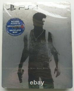 BRAND NEW SEALED Uncharted The Nathan Drake Collection G2 Steelbook PS4