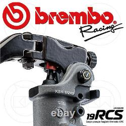 BREMBO RCS 19 FRONT BRAKE MASTER CYLINDER 19 x 18-20 (110A26310) + SWITCH STOP
