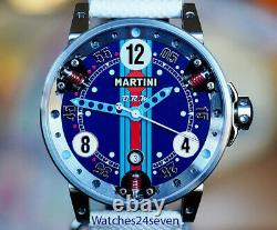 BRM Martini Shock Absorber Dial Special Edition of 100 Units, 44mm
