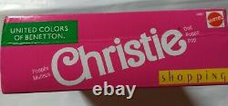 Barbie Vintage, United colors of Benetton, Christie Shopping, 1991, NRFB