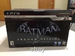 Batman Arkham Origins Collector's Edition PS3 SEALED! Hard To Find