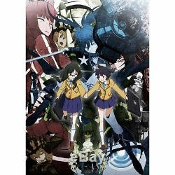 Black Rock Shooter DVD Box Limited + Figma CD Soundtrack Anime Japan Sealed NEW