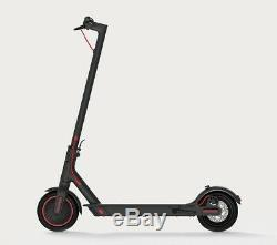 Black Xiaomi M365 Electric Scooter EU version 2 extra tyres Worldwide shipping