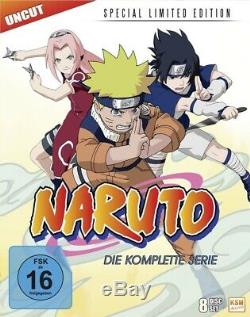 Blu-ray Box NARUTO DIE KOMPLETTE SERIE (Limited Special Edition) 8 Disc's
