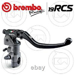 Brembo 19 Rcs Radial Front Brake Master Cylinder 19x20 18 110a26310 Racing Road