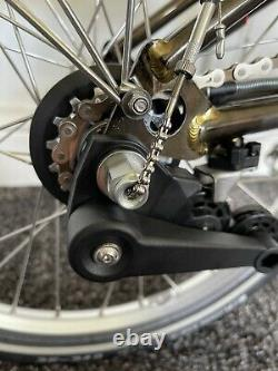 Brompton M6L 2021 Raw Black Special Edition Bike Excellent Condition