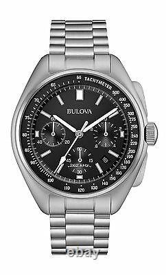 Bulova 96B258 Men's Moon Watch Chronograph Special Edition New Free Shipping