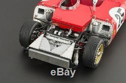 CMC M-123 118 1969 Ferrari 312p Spyder Sebring #25 Amon / Mario Andretti Signed