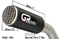 Carbon Exhaust Slip on 51mm 2 GRmoto