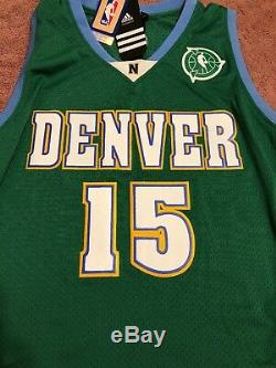 Carmelo Anthony Special Edition NBA Green Adidas Jersey 2009-10 NBA Game Worn