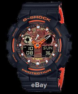 Casio G-Shock GA-100BR-1A Special Edition Men's Brand New Watch