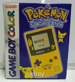 Console Nintendo Game Boy Color Pokemon Special Edition Cgb-s-pyea-eur New Rare