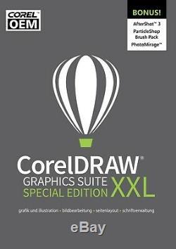 CorelDRAW Graphics Suite Special Edition XXL OEM (2019) DEUTSCH DOWNLOAD NEU