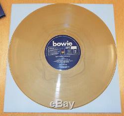 DAVID BOWIE LP Space Oddity GOLD Vinyl 2019 49 copies made! Tony Visconti Mix