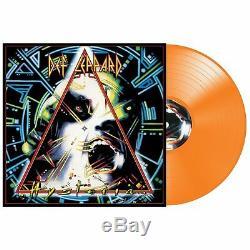 Def Leppard Hysteria 30th Anniversary Orange Color Vinyl 500 Pressed LAST COPY