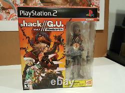 Dot hack (. Hack G. U.) Vol. 1 Rebirth Special Edition PlayStation 2, 2006 New