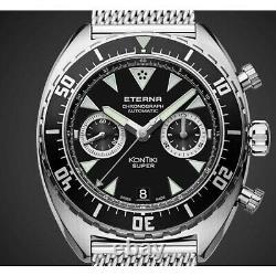 ETERNA 7770.41.49.1718 Men's Special Edition Black Automatic Watch