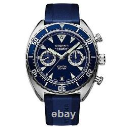 ETERNA 7770.41.89.1395 Men's Special Edition Blue Automatic Watch
