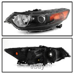 Factory HID/Xenon Model Replacement Projector Headlight For 09-14 Acura TSX