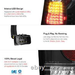 For 99-04 JEEP GRAND CHEROKEE LAREDO/LIMITED SPORT L+R BLACK LED TAIL LIGHT LAMP