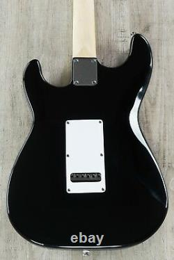 G&L Tribute Special Edition Legacy Electric Guitar, Maple, Black