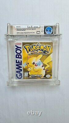 Game Boy Pokemon Yellow Version Wata 9.0 A+ Sealed First Print 1999 VGA Nintendo