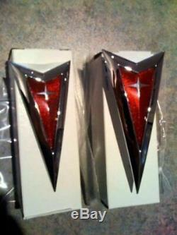 Genuine Badge Combo Kit for Pontiac G8 VE SSV Special Edition F&R Red Emblems