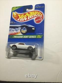 HOLY GRAIL 1995 Hot Wheels Treasure Hunt #3 67 Camaro White/Orange Real Riders