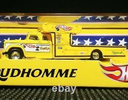 HOT WHEELS RLC DON PRUDHOMME THE SNAKE FUNNY CAR DRAGSTER HAULER transporter