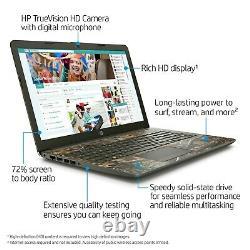 HP Camo Special Edition 15.6 Laptop AMD RYZEN 3.50GHz 8GB 256GB SSD HDMI WebCam