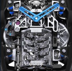 High Quality PZ bugatti engine Mechanical Tourbillon Wrist watch Special Edition