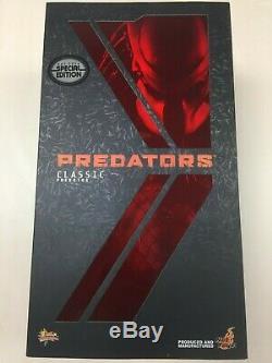 Hot Toys MMS 162 Predators Classic Predator 14 inch Figure (Special Version) NEW