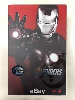 Hot Toys MMS 185 Iron Man 2 Mark VII vii 7 Tony Stark (Special Version) NEW