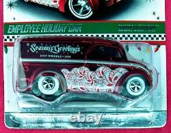 Hot Wheels 2010 Employee Holiday Car Dairy Delivery