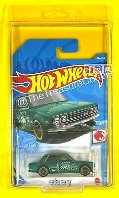 Hot Wheels 2021'71 DATSUN 510 SUPER TREASURE HUNT MINT New H