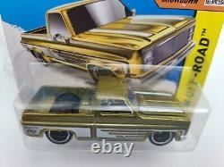 Hot Wheels 83 Chevy Silverado Super Treasure Hunt Short Card with Protector VHTF