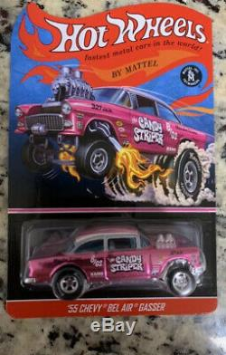 Hot Wheels RLC Exclusive Candy Striper'55 Chevy Bel Air Gasser Low Numbed #231